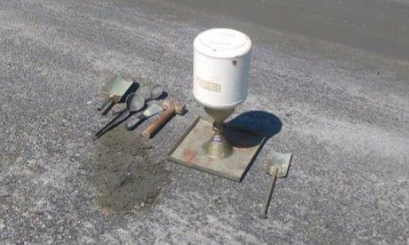 Empresa de ensaio de pavimentação