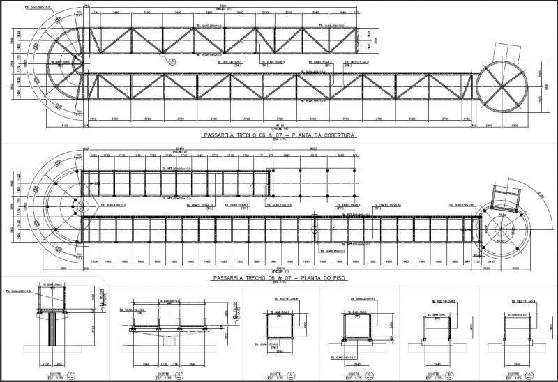 Projetos de construção de pontes