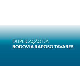 Duplicação da Rodovia Raposo Tavares