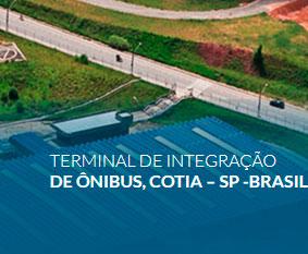 Terminal de integração de ônibus, Cotia – SP -Brasil