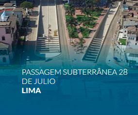 Passagem Subterrânea 28 de Julio Lima