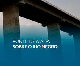 Ponte Estaiada sobre o Rio Negro