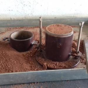 Ensaio de solo para pavimentação